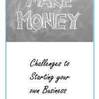 Challenges to start your own business