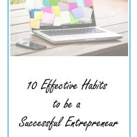 10 effective habits for successful entrepreneurs